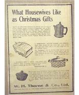 1920 Pyrex Gift Plus W H Thorne St John NB Newspaper Ad - $4.00