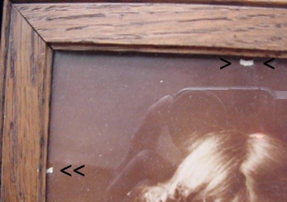 1897 Cupid Awake Cherub Girl w/ Flute Parkinson Photograph