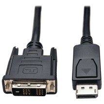 Tripp Lite P581-010 DisplayPort to DVI-D Single-Link Adapter Cable with Latches, - $51.76