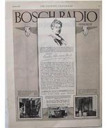 "1927 Bosch Radio ""Armored"" Models 76 & 57 Ad - $4.00"