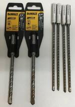 """(New) DeWalt DWA5424 5/16"""" x 6"""" Drill Bits; DW5404B25 3/16"""" x 8""""  Drill Bits - $28.70"""