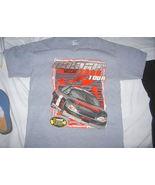 NASCAR 2006 Tour Dates SS T Shirt Nextel Cup Series Track Schedule Grey ... - $9.99