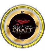 Miller Genuine Draft 14 Inch Neon Wall Clock - $108.99