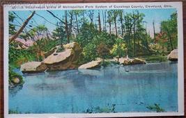 1930's PC Metropolitan Park, Cuyahoga Co., Cleveland OH - $4.95