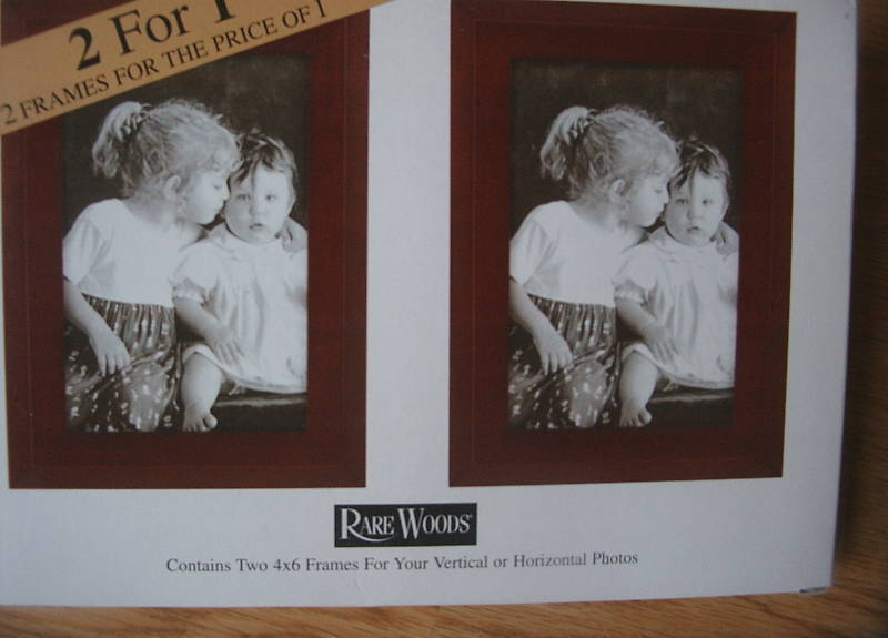 Set of 6 RARE WOODS 4 by 6 Picture Frames and 30 similar items