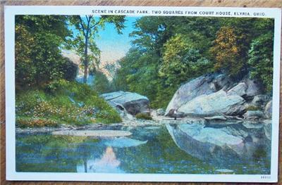 1920-30's PC Scene in Cascade Park, Elyria OH