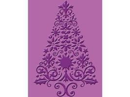 Provo Craft Lace Tree Embossing Folder #37-1898