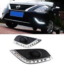AupTech 10-LEDs Car Daytime Running Lights LED DRL Kit for Nissan Versa Sedan... - $147.99