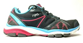 Ryka Vida RZX Walking Running Shoes Womens 7.5 Gym Training Sneakers Gray  - $28.84