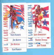 1991/92 Skybox USA 1984 Olympics Basketball Set - $1.99