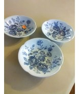 "3 Johnson Brothers England China ""Elizabeth"" Berry Bowls - $5.47"