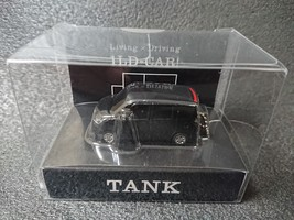 Toyota Tank Led Light Keychain Black Pull Back Mini Car Japan - $23.92