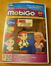 3 VTech Mobigo Games - Madagascar 3 & Toy Story 3 + Jake Neverland Pirates  - $19.27