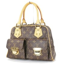Authentic LOUIS VUITTON Manhattan PM Monogram Hand Bag Purse #33802 - $699.00
