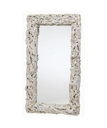 WHITE DRIFTWOOD MIRROR, Large 54
