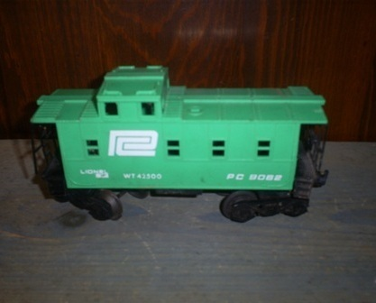Lionel Penn Central Caboose EX, 6-9062, O Scale, Train Caboose WT 42500