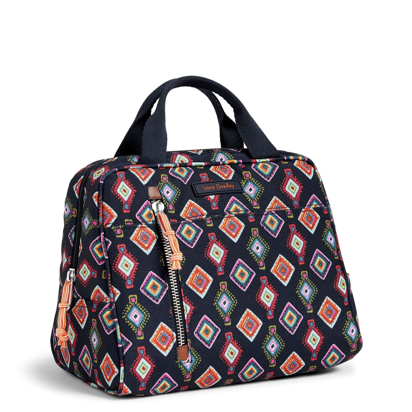 Vera Bradley Water-Repellent Lighten Up Lunch Cooler Bag, Mini Medallions