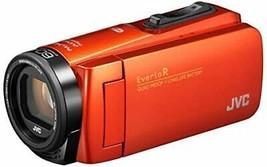 JVCKENWOOD JVC camcorder Everio R waterproof dustproof Wi-Fi 64GB Orange - $562.60