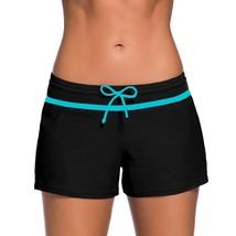 Drawstring Swimming Pants Fashion Beach Wide Waistband Boxer Swimwear Sa... - $17.30