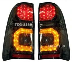TAIL REAR LIGHT L.E.D SMOKE LAMP V.2 FOR TOYOTA HILUX VIGO CHAMP MK7 201... - $173.00