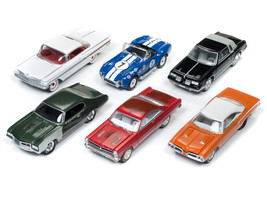 Muscle Cars USA 2018 Release 1 Set B of 6 Cars 1/64 Diecast Model Cars b... - $63.34