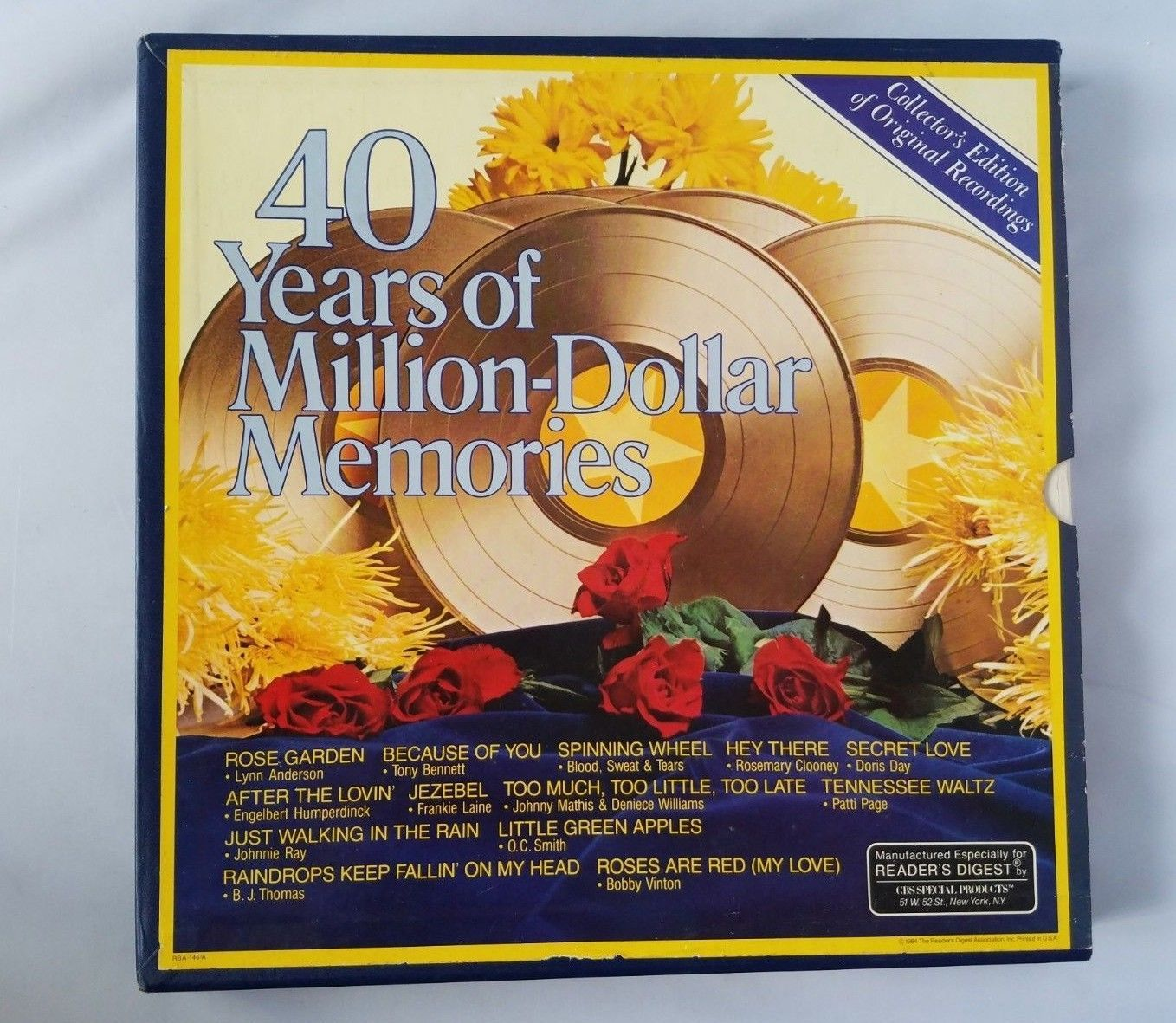 40 Years of Million-Dollar Memories Record Collection Original Recordings Vntg