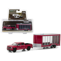 2016 Chevrolet Silverado Pickup Truck Red and Display Trailer Hitch & To... - $25.90