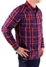 NEW NWT LEVI'S MEN'S LONG SLEEVE BUTTON UP CASUAL DRESS SHIRT RED 3LYLW0042 image 3