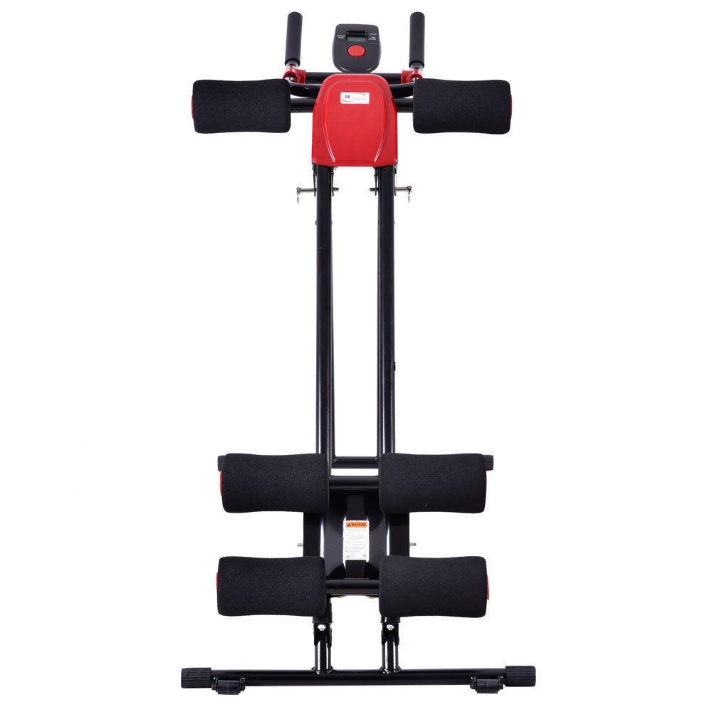 New AB Cruncher Abdominal Trainer Glider Machine Fitness Exercise Equipment
