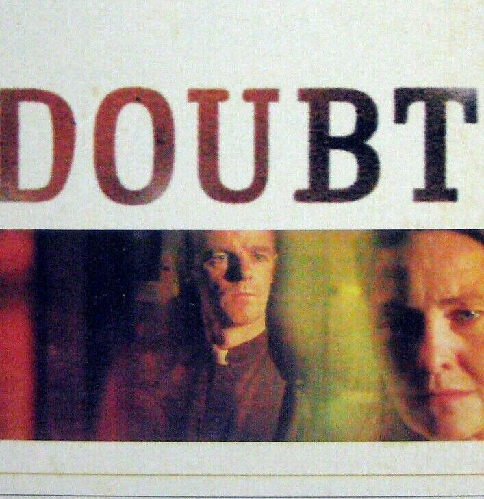Primary image for Doubt Playbill June 2005 Cherry Jones Brian O'Byrne Heather Goldenhersch Bowers