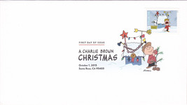 US #5021-30 2015 First-Class Issue Set Charlie Brown Snoopy Contemporary Christm image 6