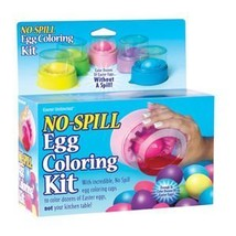 No Spill Egg Coloring Kit - $2.96