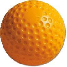 MacGregor Dimpled Baseballs, Yellow, 9-inch One Dozen - $24.82