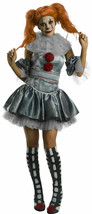 Rubies IT Pennywise Clown Movie Deluxe Adult Womens Halloween Costume 70... - $65.65