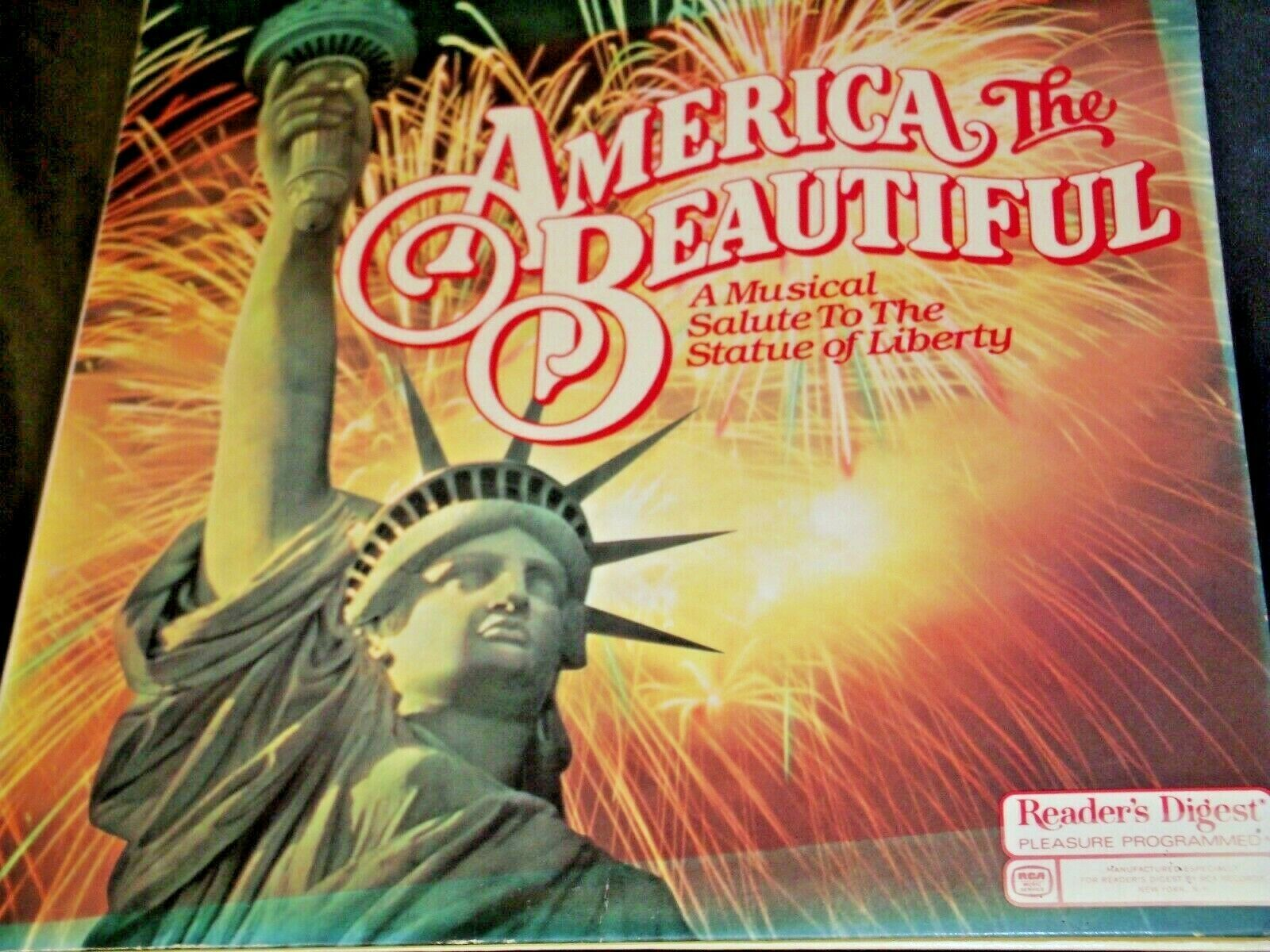 America The Beautiful RCA A Musical Salute to the Statue of Liberty AA-191765 Vi
