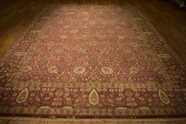 9x12 Fine Quality Wool New Handmade Rug Top Of The Line India Rug - $1,053.10