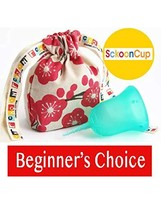 SckoonCup BEGINNER CHOICE - Made in the USA - FDA Approved - Regular Flow - Orga