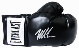 Mike Tyson Signed Everlast Black Full Size Boxing Glove - Schwartz - $246.51