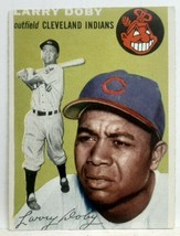 Original 1954 Topps Larry Doby Card 70 Genuine Authentic Perfect but for... - $19.99
