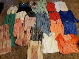 Reseller Wholesale Lot 22 Womans Dresses NWT NWOT Boutique Resale Clothing - $62.89