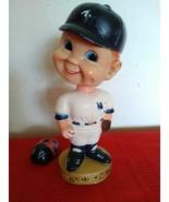 Vtg Bobblehead Nodder NY New York Yankees Sports Specialties 1974 - $20.00