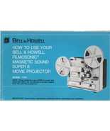 Bell & Howell Super 8 Movie Projector Instructions 1976 - $5.00