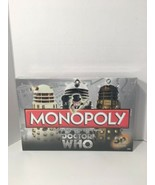 MONOPOLY DOCTOR DR WHO BOARD GAME 50TH ANNIVERSARY COLLECTOR'S EDITION (... - $49.49