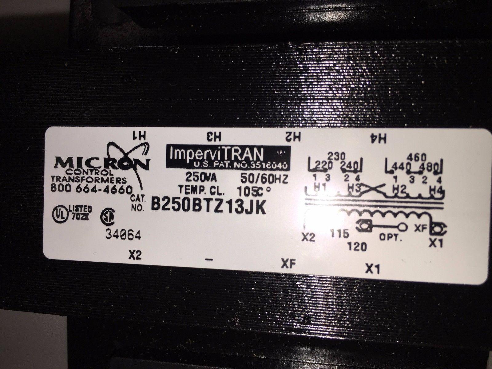 Micron Control ImperviTRAN B250BTZ13JK 250VA and 50 similar ... on
