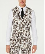 NEW MENS INC INTERNATIONAL CONCEPTS SLIM FIT BOTANICAL FLORAL PRINT VEST S - $19.79
