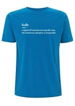 Scally Meaning T Shirt Mens Top TShirt Scallywag Rouge Bad Boy Cheeky Li... - $19.23