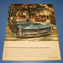 1964 Pontiac Bonneville ~ Original 2 Page Print Ad ~ Car Auto Art - $7.60
