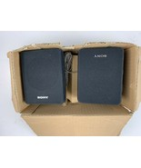 SONY SS-SR10 Surround Speaker System Pair Bookshelf Speakers - $12.56
