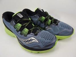 Saucony Zealot ISO 3 Size 9 M (D) EU 42.5 Men's Running Shoes Gray S20369-1