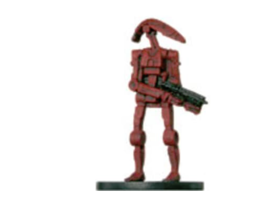 BATTLE DROID 28 Wizards of the Coast STAR WARS Miniature - $1.79
